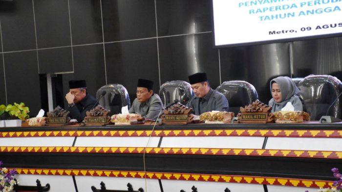 DPRD Metro Gelar Paripurna Perubahan APBD 2019