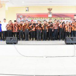 MPC Pemuda Pancasila Lampung Timur Masa Bakti 2019-2023 Dilantik