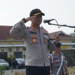 Polres Pesawaran Gelar Apel Operasi Zebra Krakatau 2019