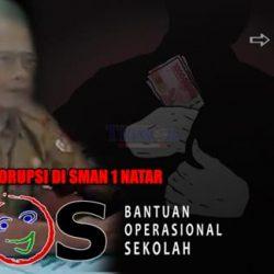 Oknum Kepala SMAN 1 Natar Korupsi Dana BOS 1,7 M ?