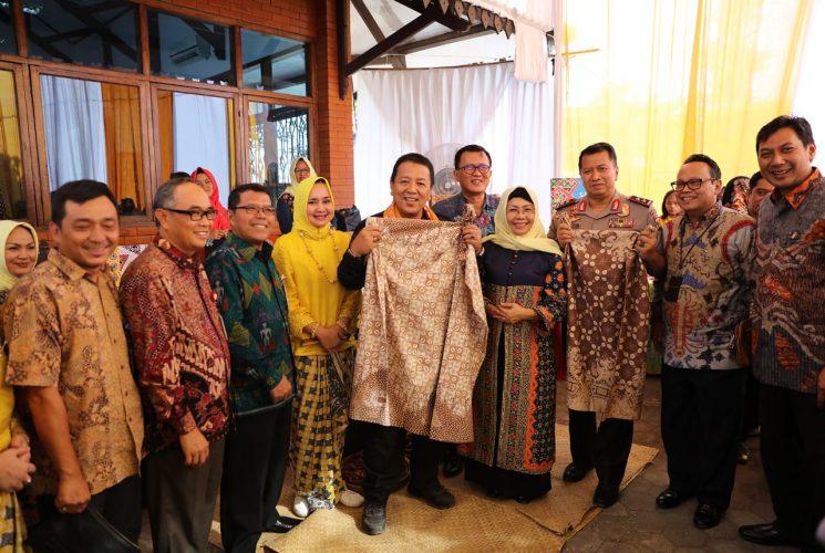 Festival Batik 2019, Gubernur Arinal Pacu Semangat Pengrajin Batik Lampung