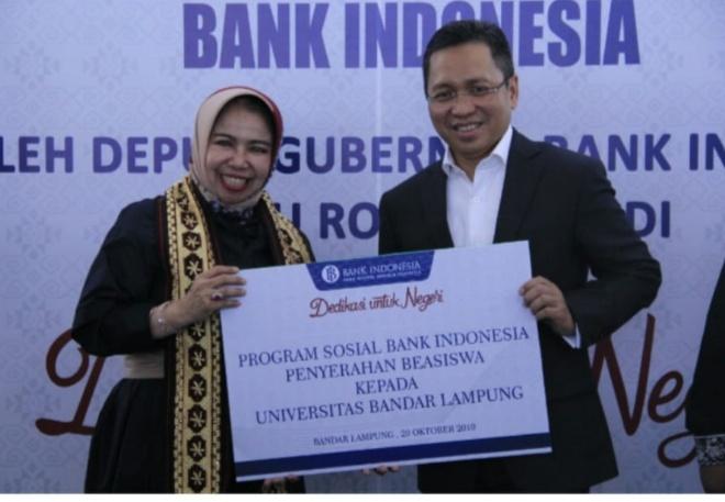 Deputi Gubernur Bank Indonesia Resmikan BI Corner di Perpustakaan UBL
