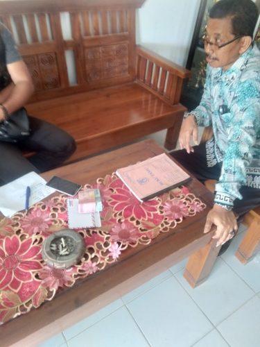 Dikonfirmasi Soal DAK, Kepala SDN 1 Braja Luhur Suap Wartawan
