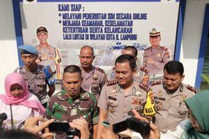 Sempat di Todongkan Senpi, Anggota Satlantas Polresta Bandar Lampung Gagalkan Aksi Curanmor