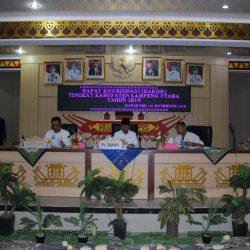 Plt. Bupati lampung Utara Pimpin Rapat Koordinasi Tingkat Kabupaten