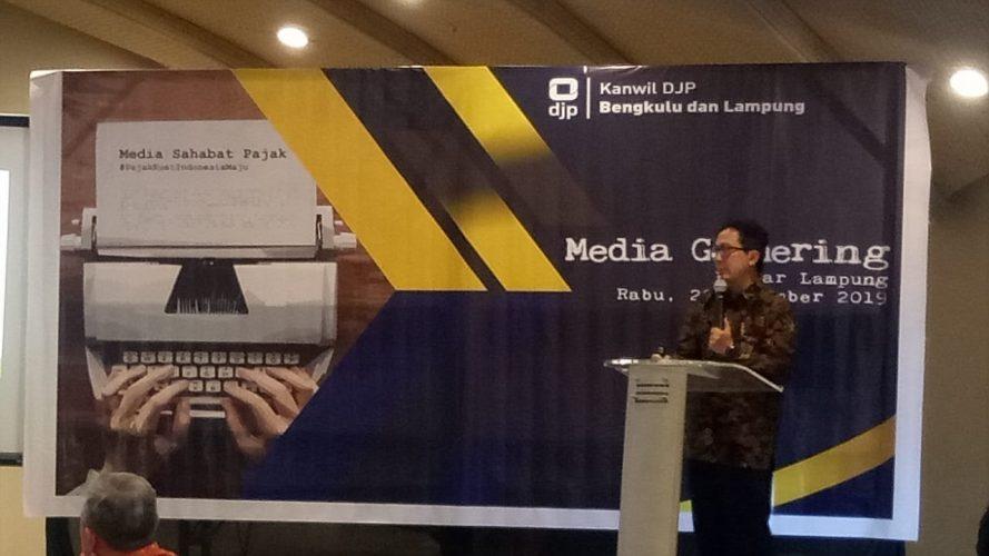 Kanwil DJP Bengkulu dan Lampung Gelar Media Gathering