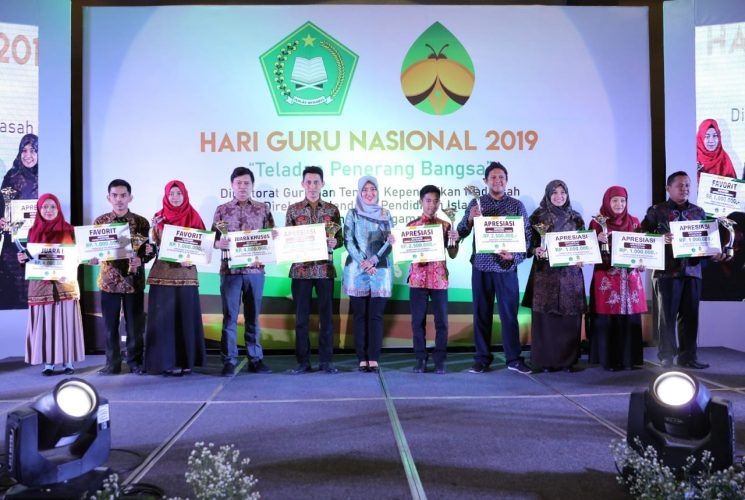Kementerian Agama Peringati Hari Guru Nasional di Lampung