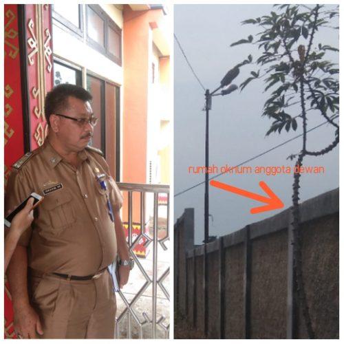 Bantuan Lampu Jalan di Lampung Utara Diduga Salah Tempat