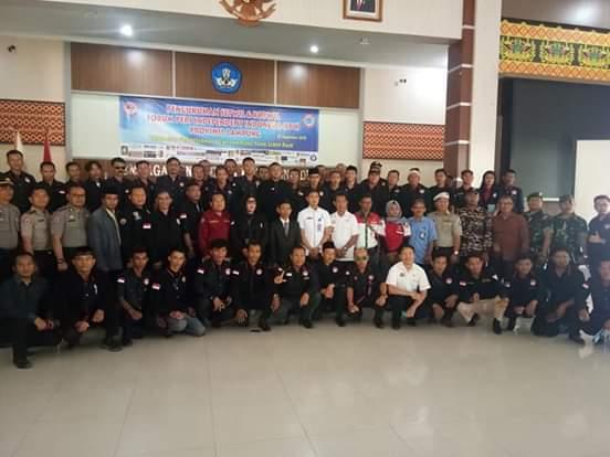 Ketua Presidium Kasihhati Lantik Setwil dan 10 Korwil se-Provinsi Lampung