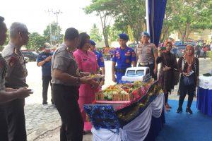 Peringati HUT Polairud ke-69, Ditpolairud Polda Lampung Tanam Terumbu Karang