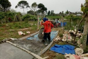 Pembangunan Jalan di Desa Sedampah Indah Terus Dikebut