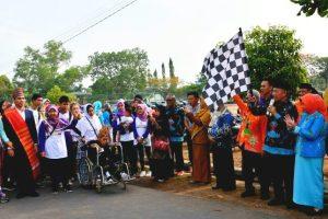 Pawai Budaya Peringati Hari Disabilitas Internasional di Kota Metro