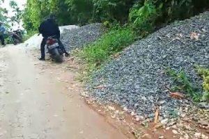 Bangunan DD 2019 Rambat Beton Terbengkalai di Dusun 4 Bukit Harapan