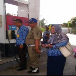 Alat Takar BBM di SPBU Kembahang Disegel Diskoperindag