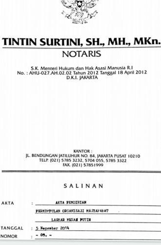 Ini Klarifikasi Majelis Tinggi Dewan Pendiri Ormas Laskar Merah Putih Tentang Isu Pembekuan MADA Lampung