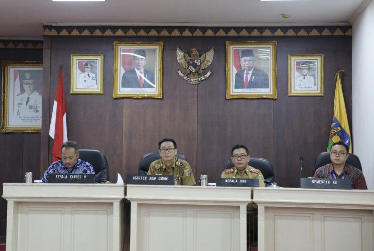 Gubernur Arinal Akan Terapkan Sistem Pelayanan Kepegawaian Secara Online