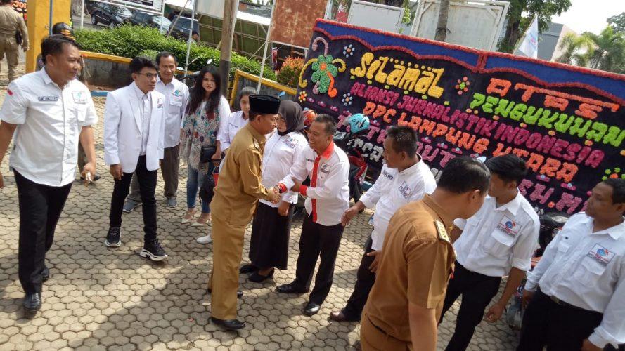 Empat DPC AJOI Lampung Resmi Dilantik di Lampung Utara