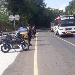 Cegah Kejahatan Jalanan, Polres Way Kanan Tingkatkan Patroli di Jalinsum