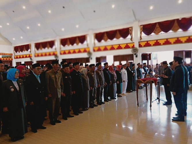 Achmad Pairin Lantik 134 Pejabat Struktural Kota Metro
