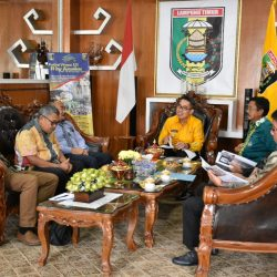 Bupati Zaiful Terima Audensi Fakultas Teknik Universitas Lampung