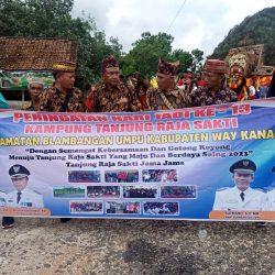 Peringati HUT ke-13, Kampung Tanjung Raja Sakti Gelar Berbagai Kegiatan