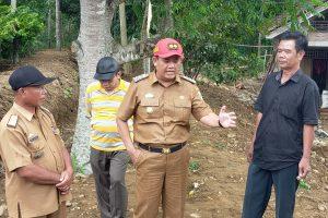 Wakil Bupati Tanggamus Tinjau Lokasi Pasca Bencana Banjir Bandang