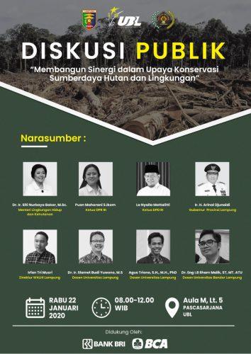 Besok, Gubernur Arinal Dijadwalkan Buka Diskusi Publik di UBL