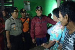 Wabup Tanggamus Tinjau Lokasi Banjir Pekon Banding dan Raja Basa