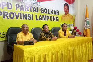 Adipati dan Edwar Paparkan Visi Misi di Penjaringan DPD Partai Golkar