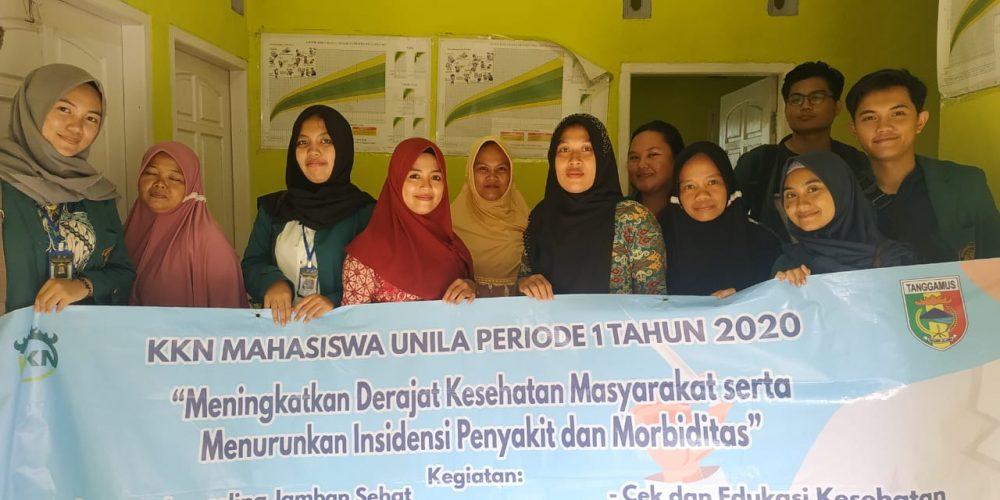 Mahasiswa KKN Unila di Pekon Banjar Agung Laksanakan Program Cek Kesehatan
