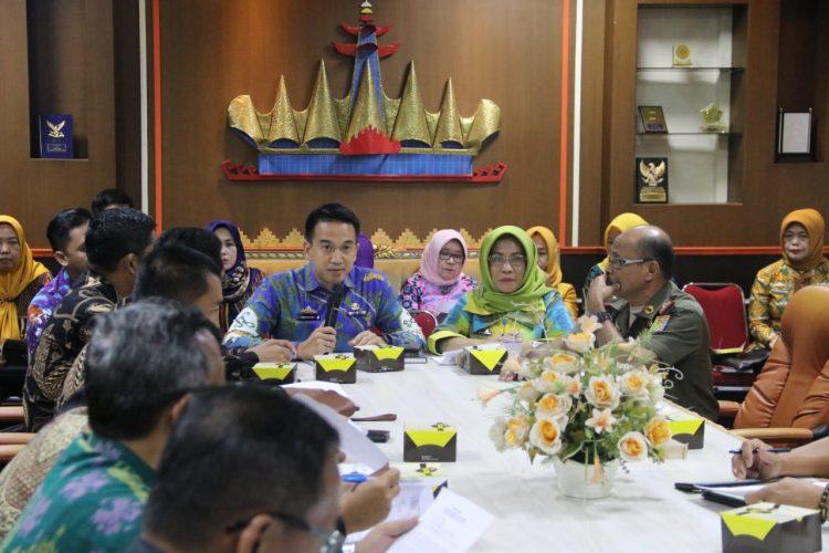 Pemprov Lampung Gelar Rapat Persiapan Pelantikan Bupati dan Wakil Bupati Mesuji