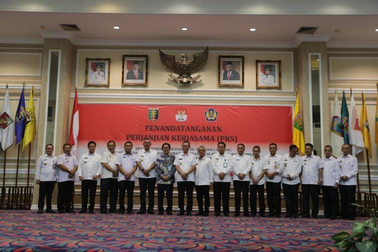 Pemprov Lampung Jalin Kerja Sama dengan Direktorat Jenderal Pajak untuk Optimalisasi Penerimaan Pajak Pusat dan Daerah