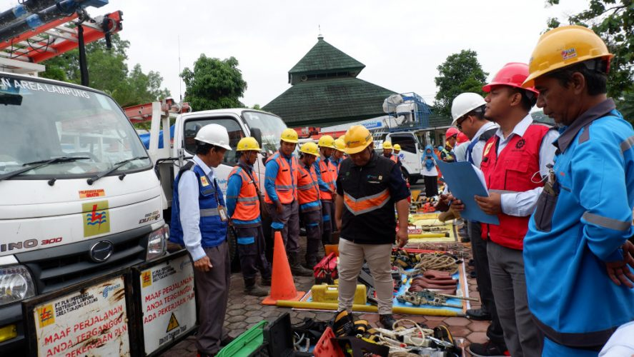 PLN UID Lampung Budayakan Penerapan K3