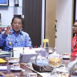 Gubernur Arinal Ajak PT. Telkomsel Bersinergi Kembangkan Pariwisata dan Ekonomi Kreatif di Provinsi Lampung