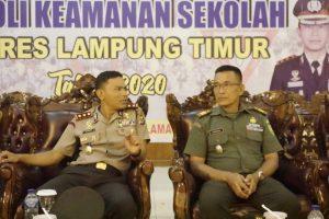 Wakili Dandim 0429/Lamtim, Danramil Sukadana Hadiri Pengumuman Pemenang Lomba PKS