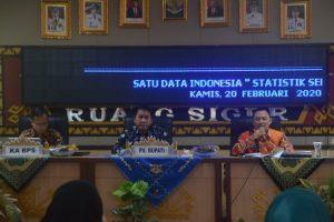 Kepala Diskominfo Lampung Utara Buka FGD Satu Data Indonesia