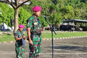 Entry Briefing Danbrigif 4 MAR/BS di Sarang Petarung Harimau Sumatera