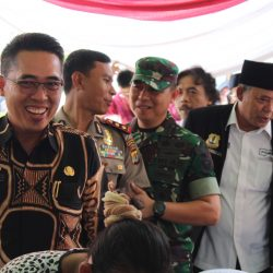 Dandim 0429/Lamtim Hadiri Pengukuhan Pengurus Pokdar Kamtibmas Tingkat Kabupaten Lamtim